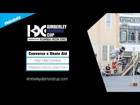 Converse Cons x Skate Aid High Ollie Contest Cape Town