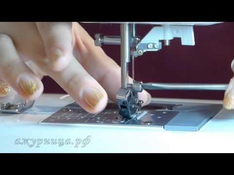 Подготовка швейной машины к вышивке 9