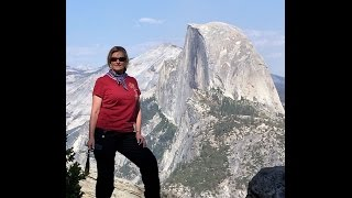 Yosemite Valley and Half Dome 2014 on Harley Road King