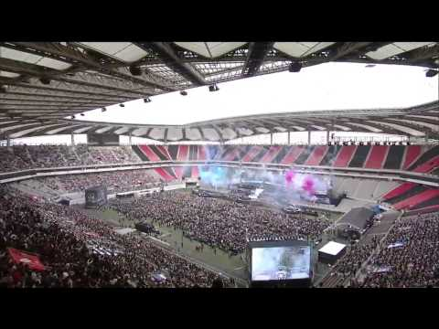 Full Opening Ceremony of League of Legends Season 4 World Championship 2014 in Seoul South Korea