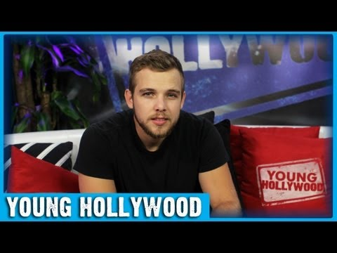Max Thieriot on Working with Jennifer Lawrence!
