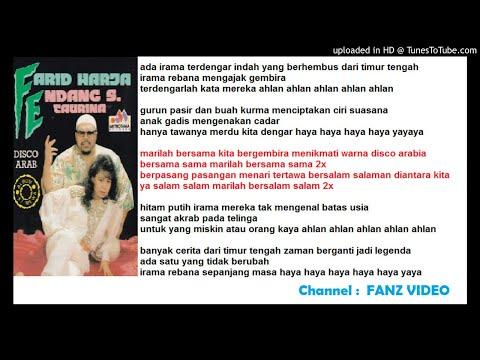Duet  FARID HARDJA & ENDANG S TAURINA - Disco Arab  (Farid Hardja)