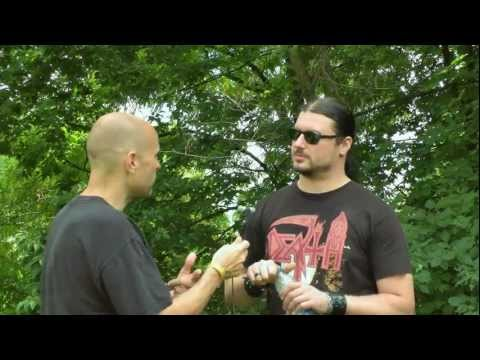 Video Interview with Trivium guitarist Corey Beaulieu at Heavy MTL 2012