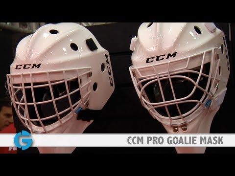 CCM Pro Goalie Mask at the Let's Play Hockey Expo