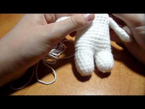 Как связать туловище для игрушки № 2