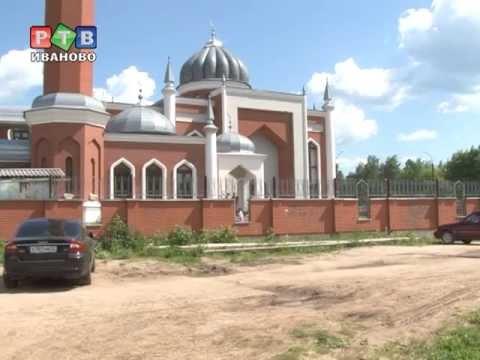 Вандалы изрисовали мечеть