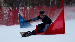 Mike Trapp 2018 Olympic Hopeful Pro Snowboard Racer