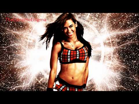 Aj Lee 4th WWE Theme Song Lets Light It Up