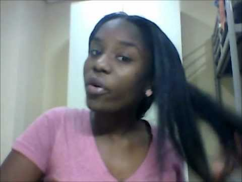 How I straightened my transitioning hair 23 months post relaxer