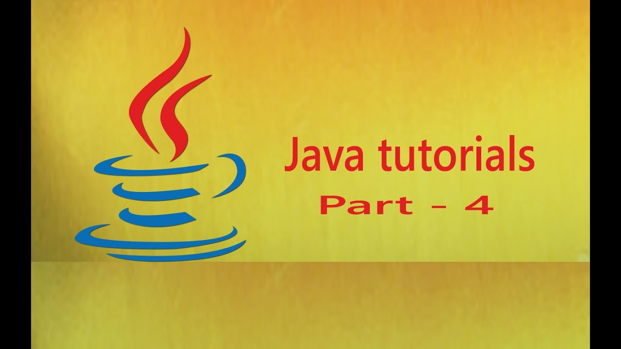 java online tutorials