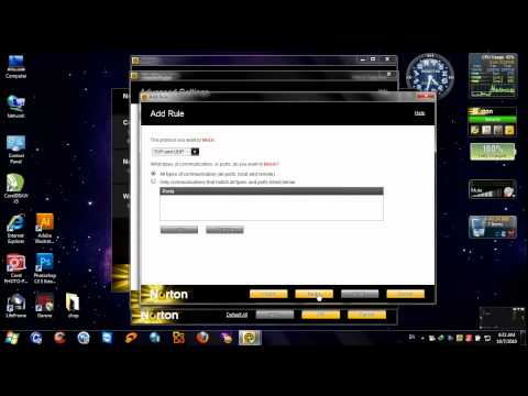 Block web with Norton Internet Security !