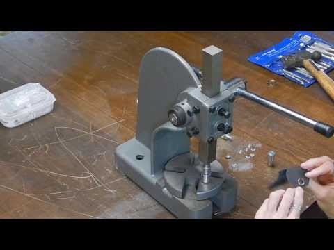 Make a Snap and Rivet Setter from an Arbor Press