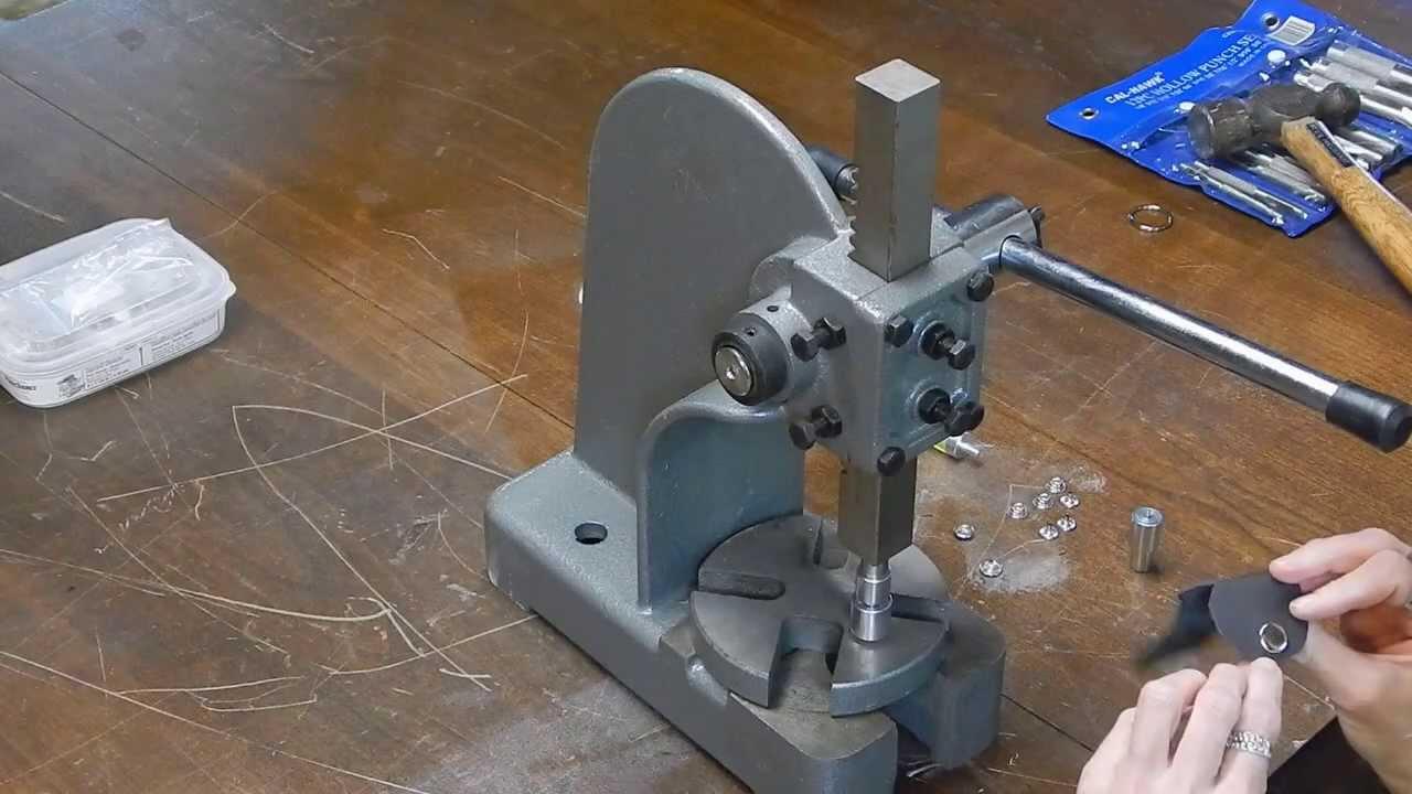 Model T Brake Rivet Tool : Tubular rivet press bing images
