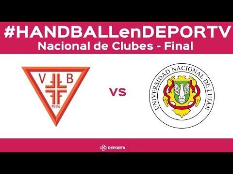 #HANDBALLenDEPORTV - SAG Villa Ballester vs UNLu - Nacional de Clubes 2018 - Final