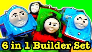 Thomas & Friends Percy 6 In 1 Builder Set TrackMaster Ultimate Thomas Toy