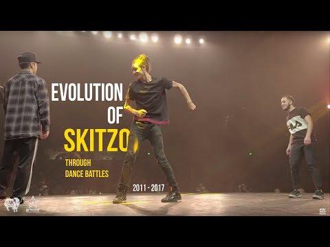 Evolution of SKITZO | Dance Battle Compilation 🔥