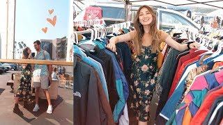 COME THRIFTING WITH US! at the rose bowl flea market