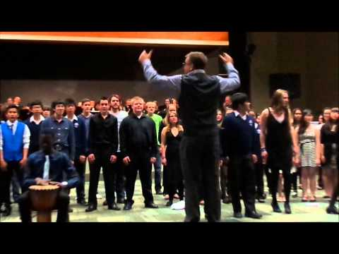 Whistler Cantando Music Festival - Mass Choir (Gray Watson Solo)