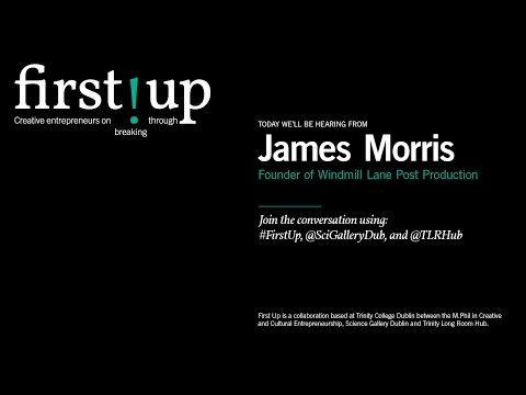 LIVE - FIRST UP: JAMES MORRIS, FOUNDER OF WINDMILL LANE POST PRODUCTION