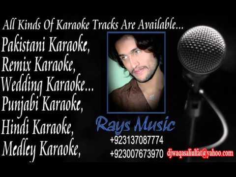 Naina thag lenge   karaoke by rahat fateh ali khan