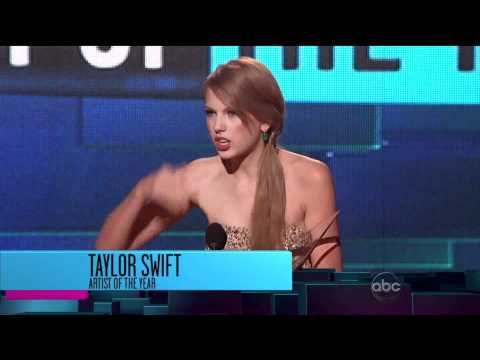 Taylor Swift Wins Artist Of The Year - AMA Awards 2011