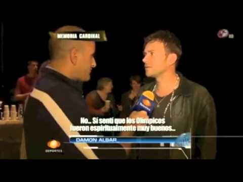 Damon Albarn Interview on Latitudes(Mexican TV 12/03/13)