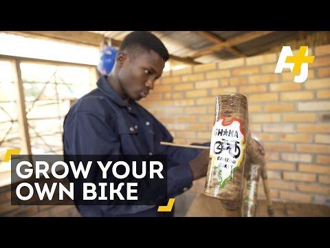 Ghana's Eco-Friendly Bamboo Bikes