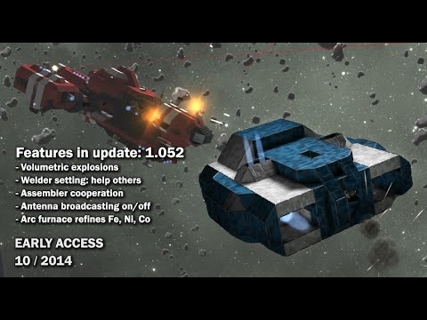 Space Engineers – Assembler Cooperation, Volumetric Explosions