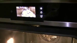 Пиролитическая очистка духовки Electrolux/The pyrolytic cleaning of the oven Electrolux.