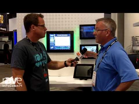 InfoComm 2014: Gary Talks to Sean Matthews of VISIX About MeetingMinder Room Signs