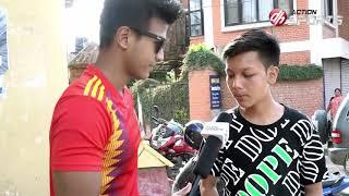 WorldCup 2018 Fan Club  || VJ Sudit Shrestha|| Action Sports