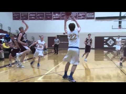 Wadena-Deer Creek Boys Basketball at Crosby-Ironton - Lakeland News Sports - February 11, 2016