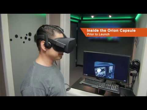 Virtual Reality Demo: Space Launch System Launch Experience