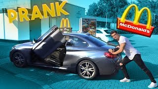 McDonalds PRANK | BMW M240i kaputt  | FLEX IT