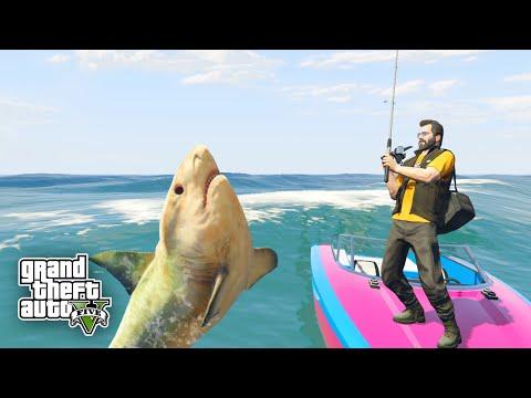 fishing рыбалка в gta 5
