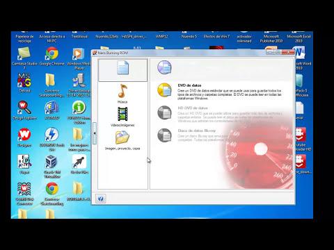 Descarga y como quemar un imagen iso de un sistema operativo con Nero ( full HD) 2014