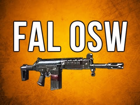 Black Ops 2 In Depth - FAL OSW Assault Rifle Review (with Select Fire too)