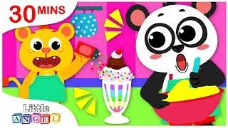 Milkshake Song, No No Safety Tips, Princess Songs, Yum Yum, Nursery Rhymes by Little Angel