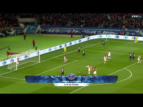 Coupe de France : 1/4 de finale : Paris-SG-Monaco (2-0), le résumé