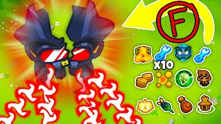 *MY EPIC FAIL* ULTIMATE Boosted Legend of the Night is AMAZING in Bloons TD 6!