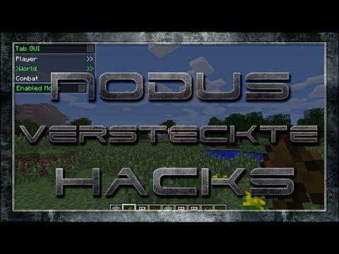 Minecraft Nodus versteckte Hacks Vorstellungen Deutsch/German HD