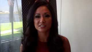 Gail Kim Interview at TNA Fan InterAction in Miami March 2014