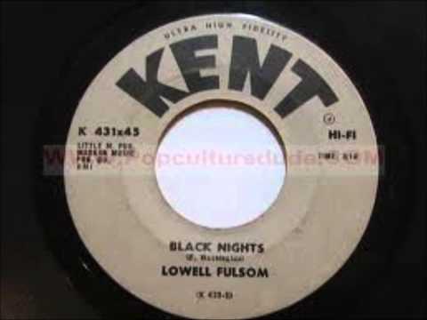 LOWELL FULSON BLACK NIGHTS KENT RECORD LABEL K431