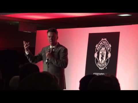Louis Van Gaal speech at Association of Former Manchester United Players Dinner