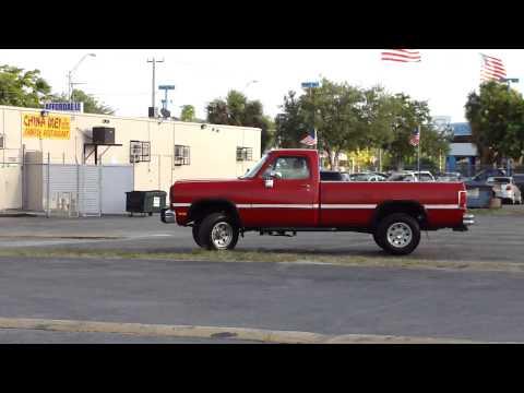 1991 Dodge Ram 250 LE 151K Miles 4X4 Cummins 12V $5500