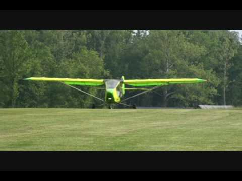 CGS Aviation Hawk Classic II Take Off Scottsburg IN Airport 0509