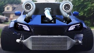 The CRAZIEST TURBOS you'll EVER see! **3000HP**