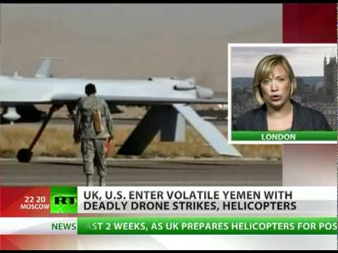 Predatory Policy: US, UK enter Yemen with deadly drone strikes, choppers