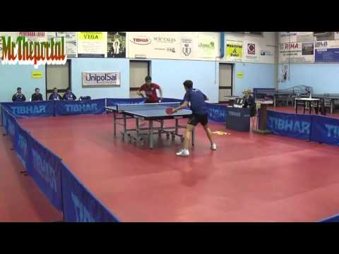 Table Tennis Italian League 2016 - Qian Cheng Vs Daniele Pinto -