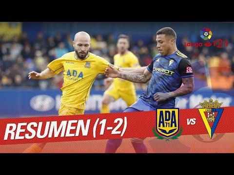 Resumen de AD Alcorcón vs Cádiz CF (1-2)